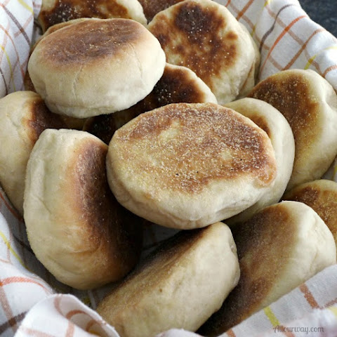 English Muffins Start to Finish