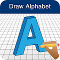 Download How to Draw 3D Alphabet Letter APK on PC