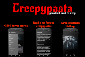 Screenshot of Creepypasta + SCP (ENGLISH)