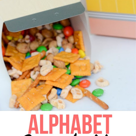 Alphabet Snack Mix