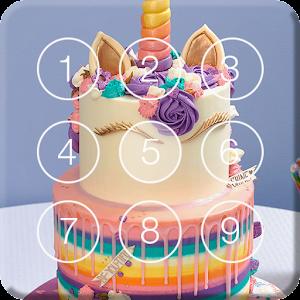 Sweet Unicorn Cake Screen Lock For PC / Windows 7/8/10 / Mac – Free Download
