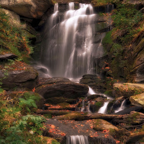 7 Falls by Mark Turnau - Landscapes Waterscapes