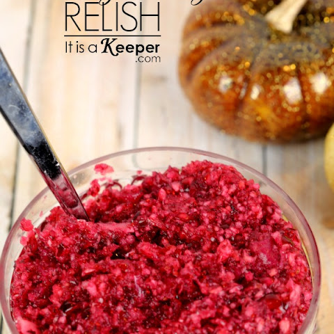 Fresh Cranberry-Orange Relish