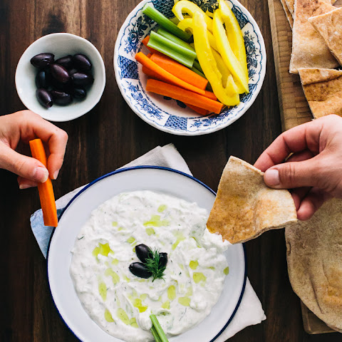 Tzatziki (Greek Yogurt Cucumber Dip)
