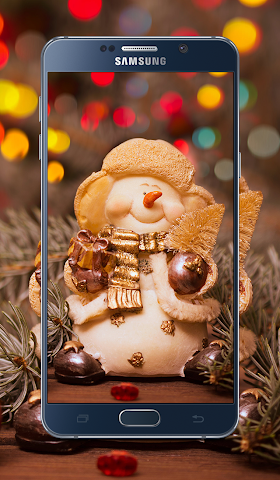 android Christmas New year Wallpapers Screenshot 0