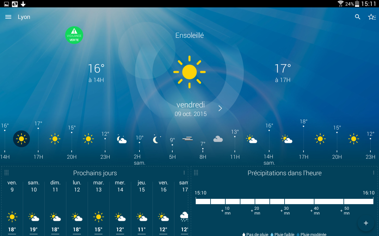 Météo-France Screenshot 14