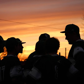 Words of Wisdom by Lana Owens - Novices Only Sports ( burkesville, baseball, sunset, team, profile )