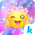 Cute Emoji Kika Keyboard Theme 4.0 Apk