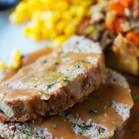 Easy Thanksgiving Turkey Meatloaf