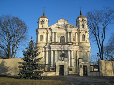 St. Peter and St. Paul's Church in Vilnius