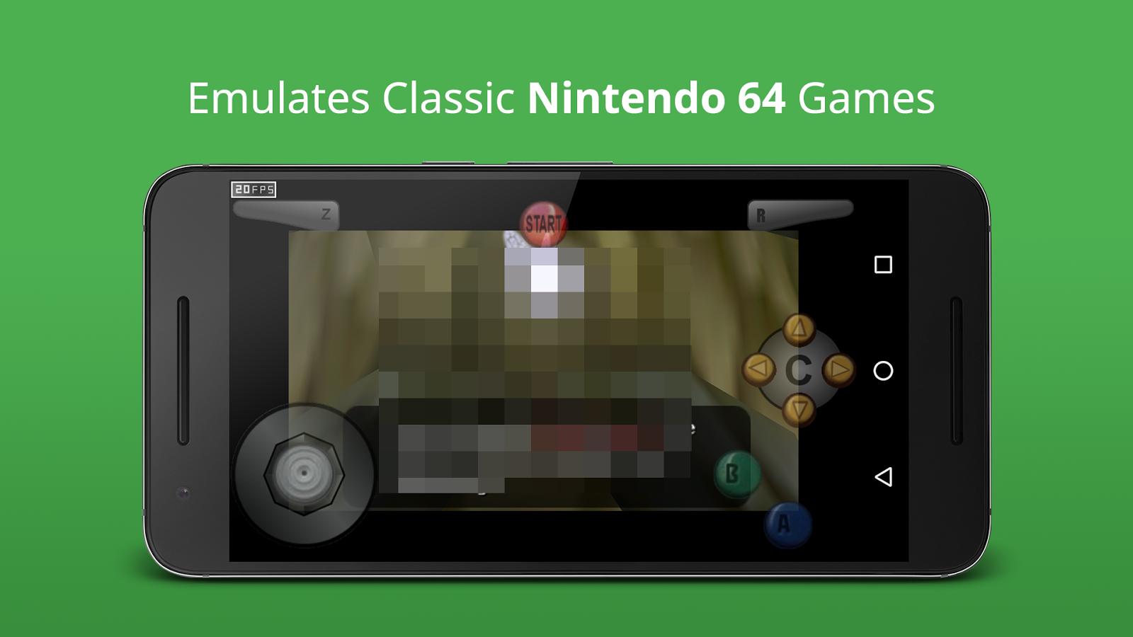 Cool N64 Emulator für alle Spiel android spiele download