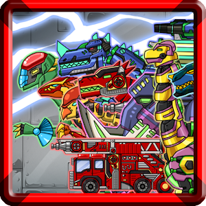Dino Robot - Dino Corps2 For PC / Windows 7/8/10 / Mac – Free Download