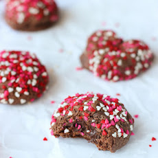 Valentine's Day Double Chocolate Cookies