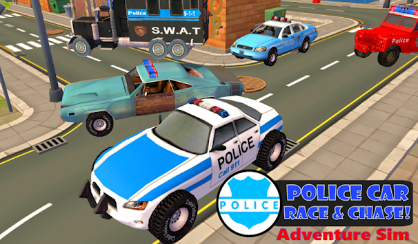 Police Car Chase Sim 911 FREE APK screenshot thumbnail 1