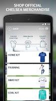 Screenshot of Chelsea FC Hospitality