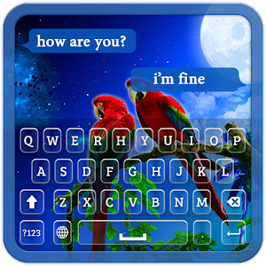 Download Love Birds Keyboard Theme for Windows Phone