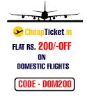 Flat Rs. 500 Off on International & Flat Rs. 200 Off on Domestic Flights