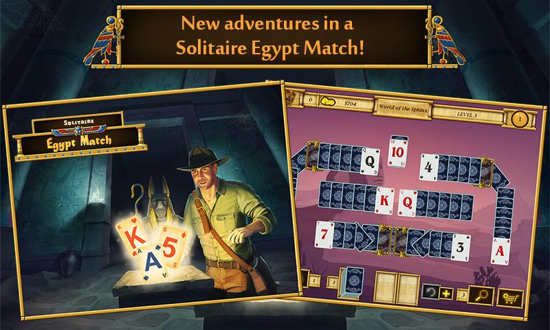 Solitaire Egypt Match Screenshot 0