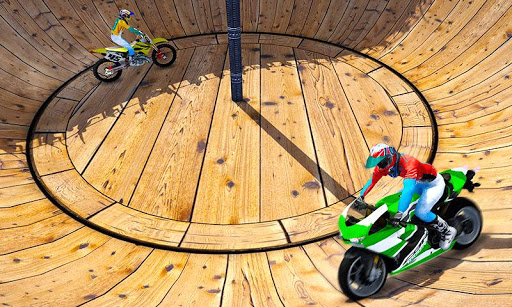 Well of Death Bike Stunt Drive For PC