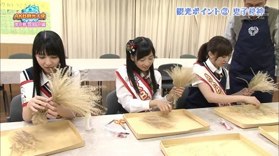 (TV-Variety)(720p) 小栗有以 松岡菜摘 坂口理子 – AKB観光大使 ep26 150625