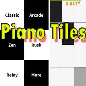 Piano Tap The Black Tile