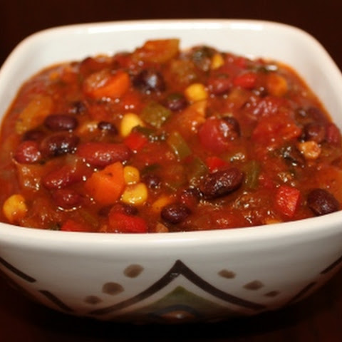 Spicy Veggie Chili