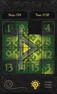 The Futhark (15 Puzzle) - screenshot