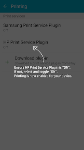 HP Print Service Plugin APK for iPhone