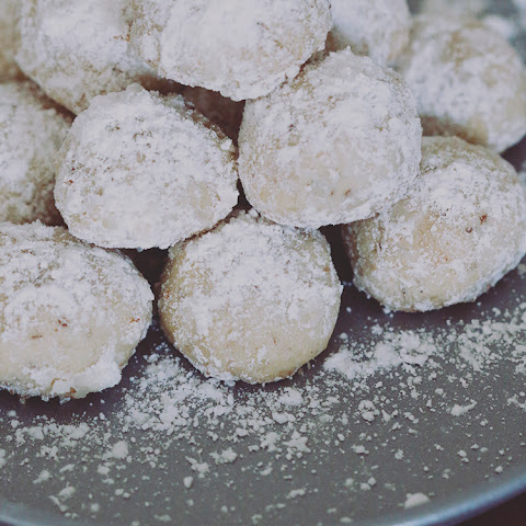 Three Nut Mexican Wedding Cookies