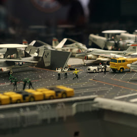 On the Carrier by Avery Roe - Novices Only Objects & Still Life ( aircraft, carrier, smithsonian, mini, military )