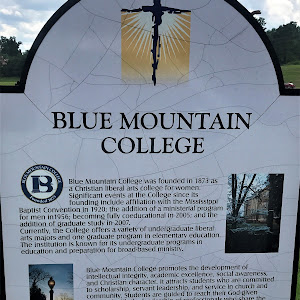 Blue Mountain College was founded in 1873 as a Christian liberal arts college for women. Significant events at the College since its founding include affiliation with the Mississippi Baptist ...