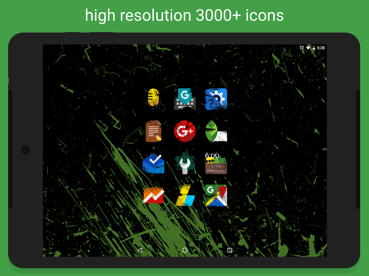 Ruggon - Icon Pack Screenshot 8