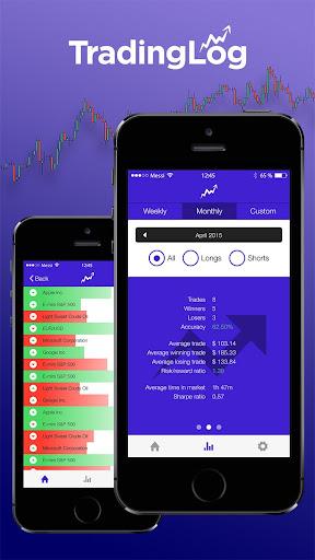 TradingLog - screenshot