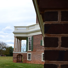 Poplar Forest by Nibia Orona - Buildings & Architecture Other Exteriors ( thomas jefferson, virginia, thomas jefferson second home, poplar forest, architecture, other exteriors,  )