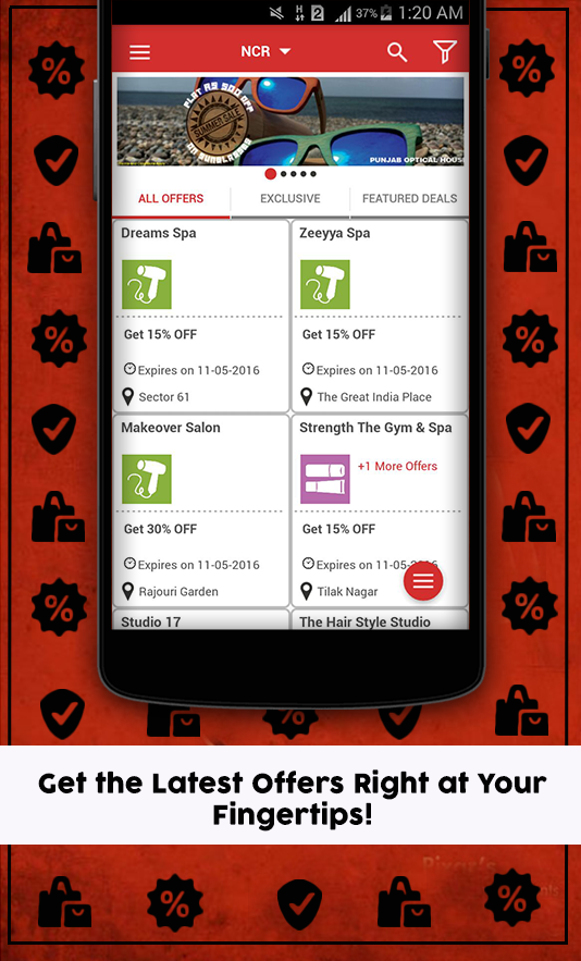 Zerch - Nearby deals & offers Screenshot 1