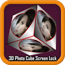 3D Photo Cube Screen Lock