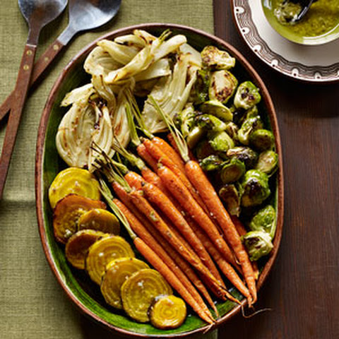 Anchovy Roasted Vegetables Recipes