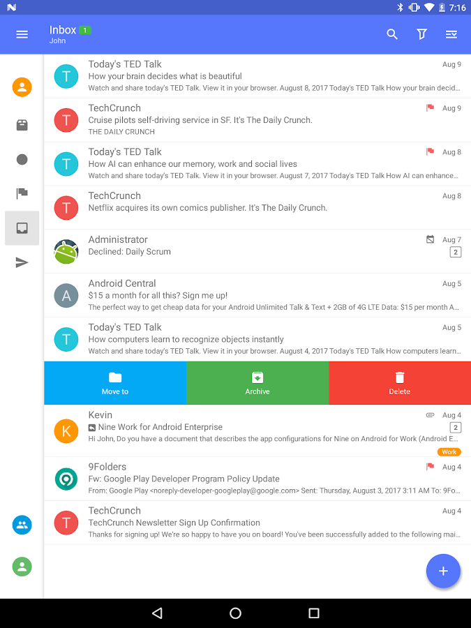 Nine - Email & Calendar Screenshot 9