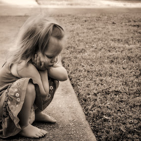 Deep Thought by Shaun Poston - Babies & Children Toddlers ( babies, children, candid, toddlers, portrait )