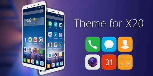 FREE Azure Theme for Vivo X20