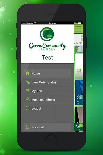 Green Community Laundry screenshot 1