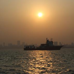 Mumbai meri jaan by Umed Jadeja - Landscapes Sunsets & Sunrises ( landscape )