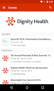 Dignity Health Convention - screenshot