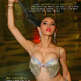 I Am Ladyboy Book by Sergei Tokmakov - Typography Captioned Photos ( sexy, model, gay, ladyboy, transgender )