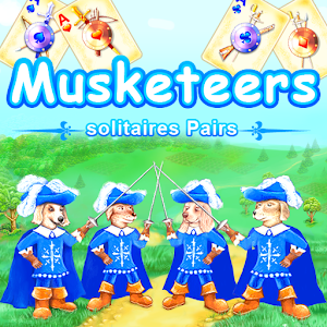 Musketeers - solitaires Pairs