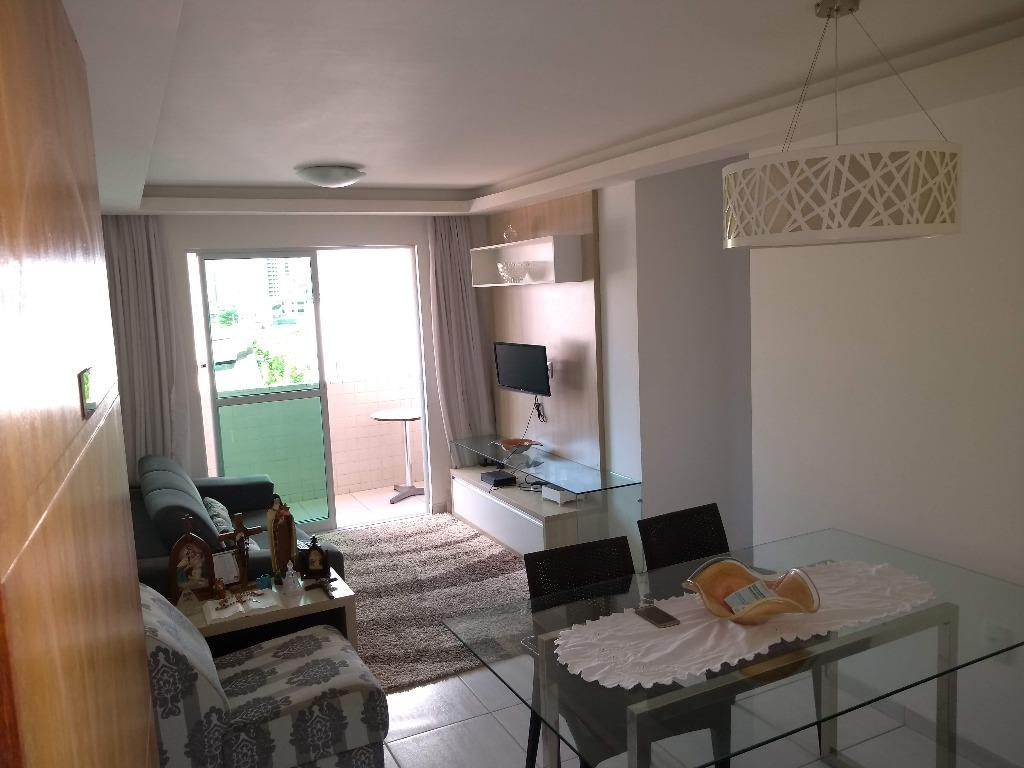 Apartamento com 2 dormitórios à venda, 64 m² por R$ 185.000 - Aeroclube - João Pessoa/PB