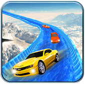 Frozen Water Slide Surfer Car APK for Bluestacks