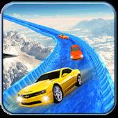 Game Frozen Water Slide Surfer Car APK for Windows Phone