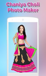 Women ChaniyaCholi Photo Maker- screenshot thumbnail