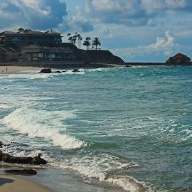 Victoria Cove by Jeannine Jones - Landscapes Beaches